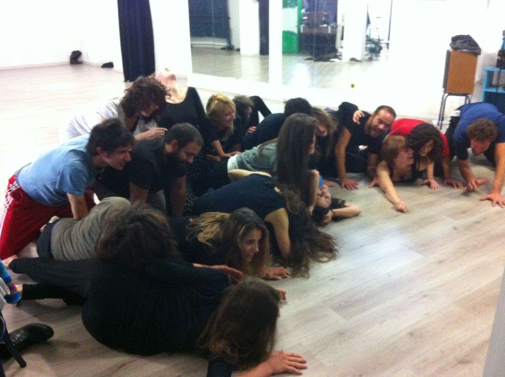 Laboratori per attori di Onda Larsen Teatro con Daniele Salvo - Le Baccanti