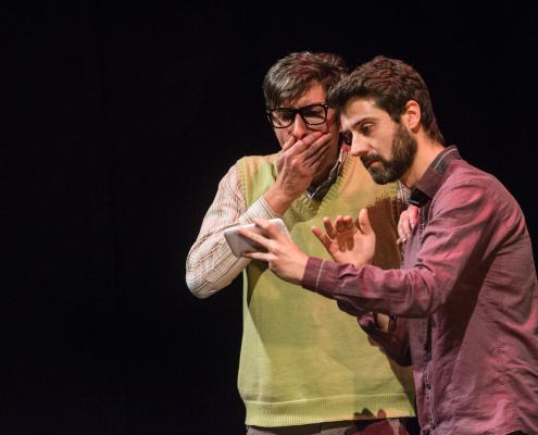 Spettacolo Onda Larsen Teatro Astra Torino