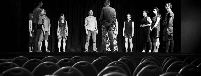 Backstage per-corso Spettacolo Onda Larsen