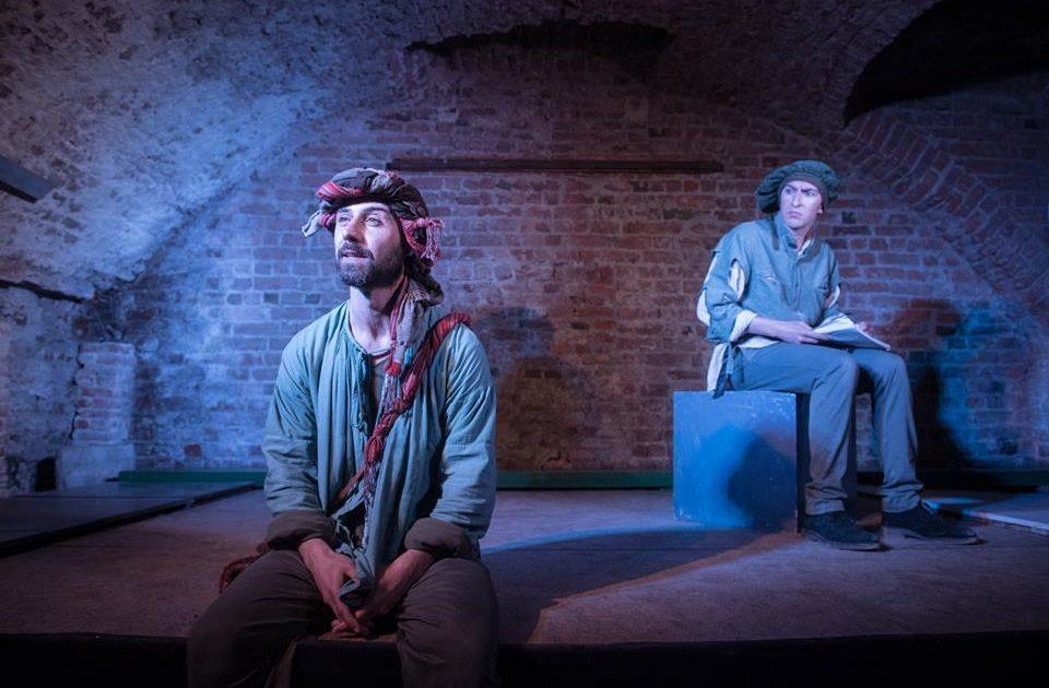 Riccardo De Leo, Gianluca Guastella, Onda Larsen Teatro
